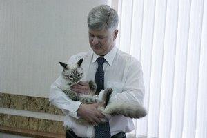 Екатеринбургский кот-политик провел встречу с мэром