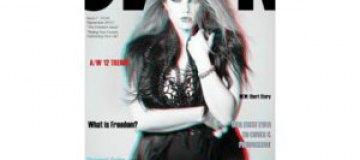 Модный журнал для толстушек выпустил номер в 3D