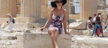 Гордиенко провела летние каникулы в Греции