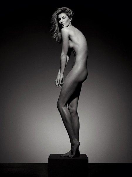 подиумные модели голые фото