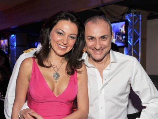 Михаил Турецкий с супругой Лианой