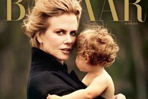 Николь Кидман устроила фотосессию с младшей дочкой