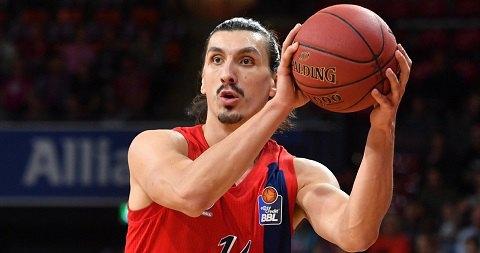 Баскетболиста-двойника Ибрагимовича бесит сходство со знаменитым шведом