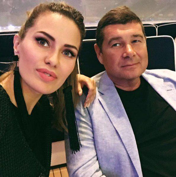 """Онищенко с """"хорошей подругой"""" Викой Боней"""