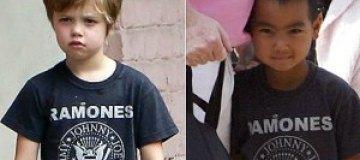 Дочь Анджелины Джоли донашивает старые вещи брата