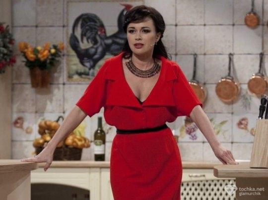 Анастасия Заворотнюк получает за съемочный день на $1 тыс. меньше