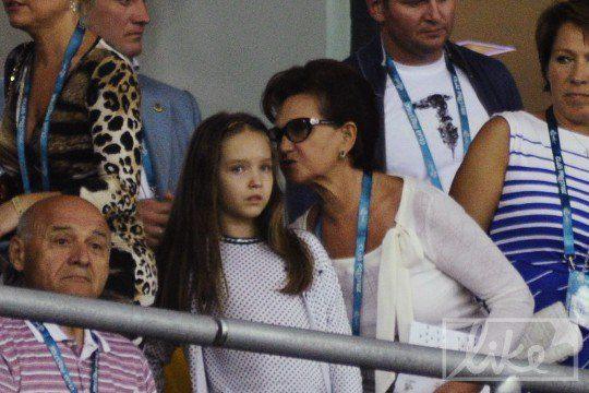 Екатерина Пинчук с бабушкой Людмилой Кучмой