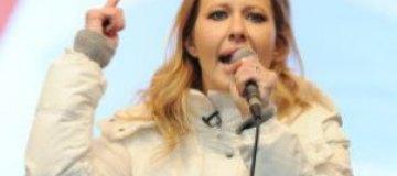 Ксению Собчак будут судить за нарушение порядка