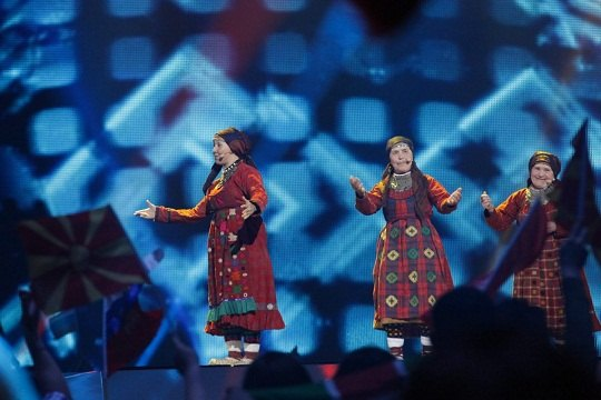 """Бурановские бабушки"" на сцене в Баку"
