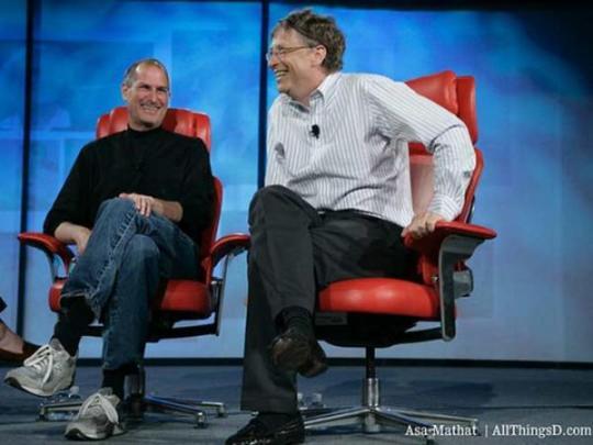 Родные Стива Джобса утверждают, будто компьютерные гении вовсе не враждовали