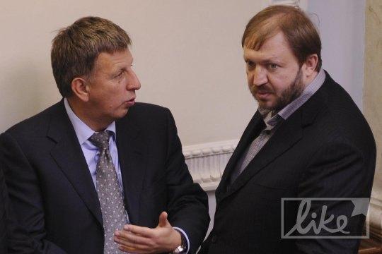 Василий Горбаль (справа)
