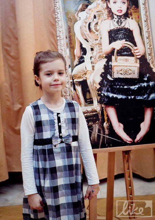 Внучка Владимира Горянского - Катя Трофимова (6 лет)