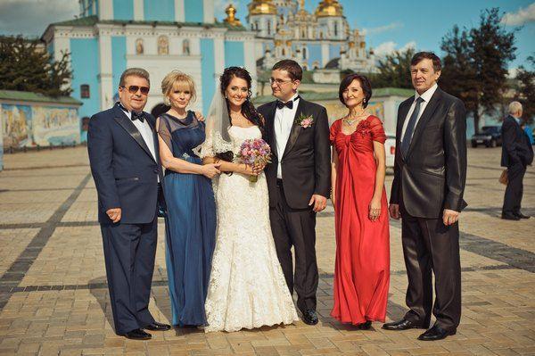 Фотография со свадьбы сына Михаила Поплавского
