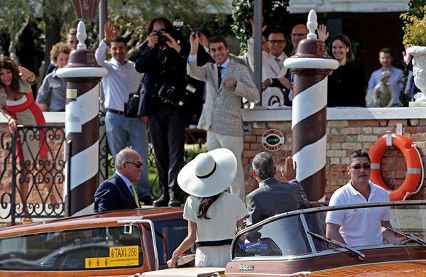 Джордж Клуни и Амаль Аламуддин - официальная церемония бракосочетания