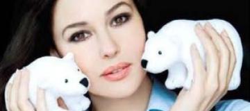 Моника Белуччи будет продавать белых медведей