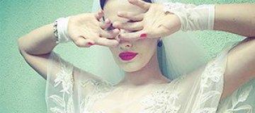 Даша Астафьева надела свадебное платье