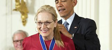 Барак Обама признался в любви Мэрил Стрип