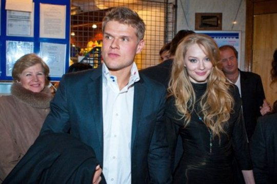 Светлана Ходченкова с бывшим мужем Владимиром Яглычем