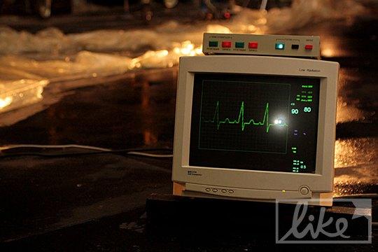 Монитор из кардиологии