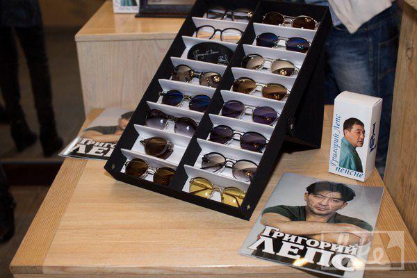 В караоке-ресторане Лепс продает очки собственного бренда