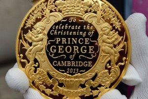 Названы крестные родители принца Джорджа