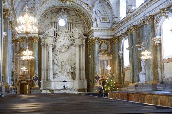 Собор при дворце в Стокгольме
