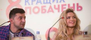 Вера Брежнева с дочками и мамой пришла на киевскую премьеру своего фильма