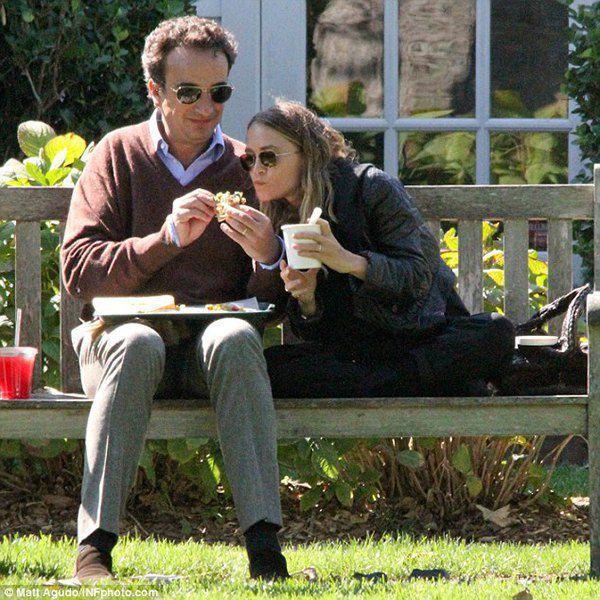 Мэри-Кейт Олсен и Ольвье Саркози