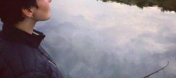 Астафьева-рыбачка похвасталась крупным судаком