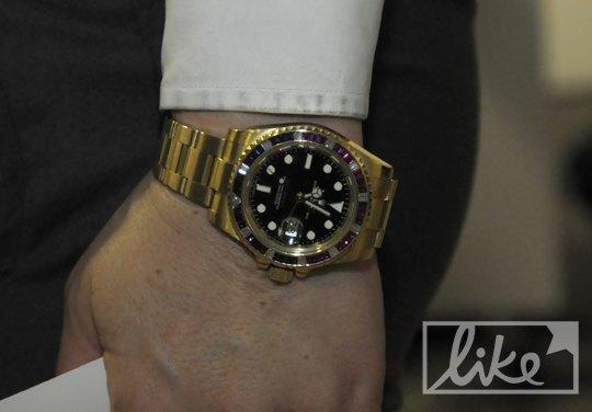 Часы Виктории Тигипко со второго дня UFW