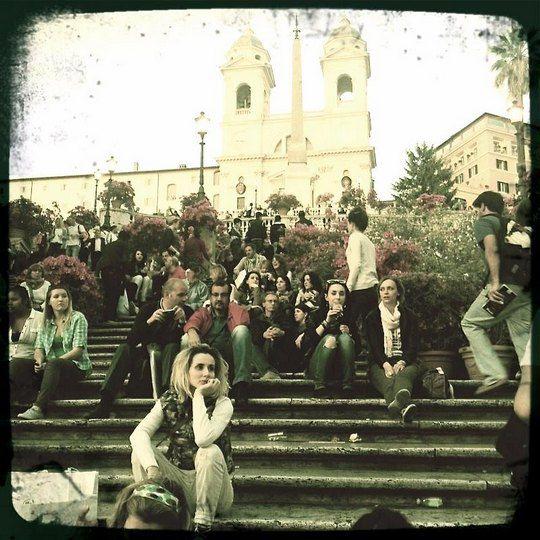 Rome. Piazza di Spagn