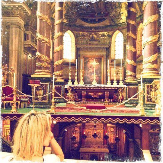 Rome. Basilica of San Pietro
