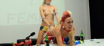FEMEN шокировали пуританскую Польшу и угрожали УЕФА