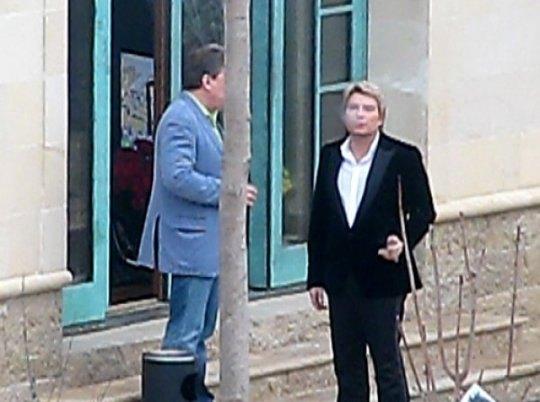 Николай Басков с удовольствием курил сигары
