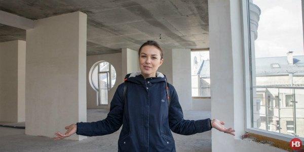 Топольская сразу влюбилась в просторную и светлую квартиру в новом доме