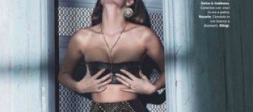Алисса Миллер в фотосессии для журнала Amica