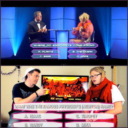 Кадры из клипа-пародии с Рэнди Джексоном и звездами American Idol
