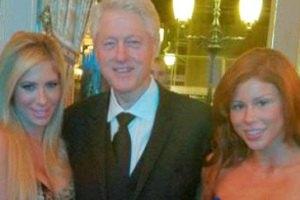 Билл Клинтон отдохнул с порнозвездами