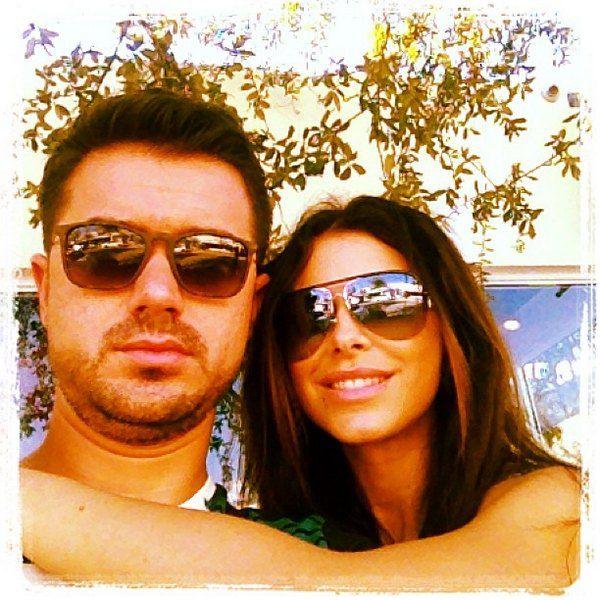 Ани Лорак с мужем Муратом в Майами