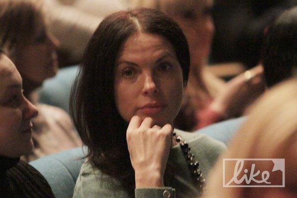 В партере расположилась Влада Литовченко