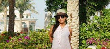 Ани Лорак с Муратом худела и загорала в ОАЭ