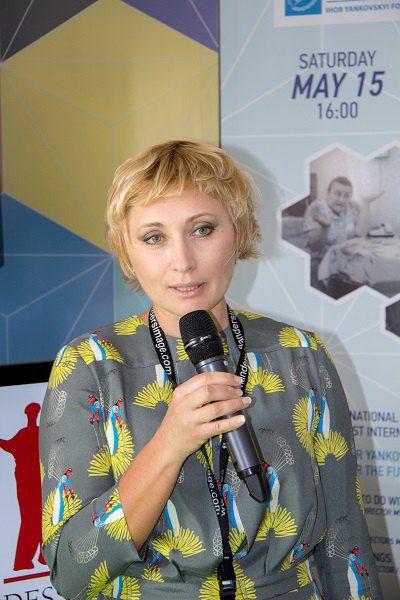 Президент ОМКФ Виктория Тигипко
