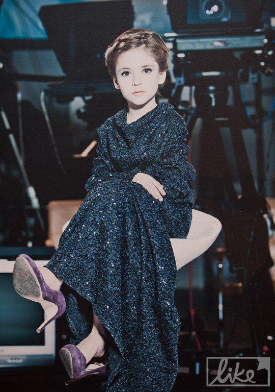 Дочь Юлии Литвиненко - Александра (6 лет)