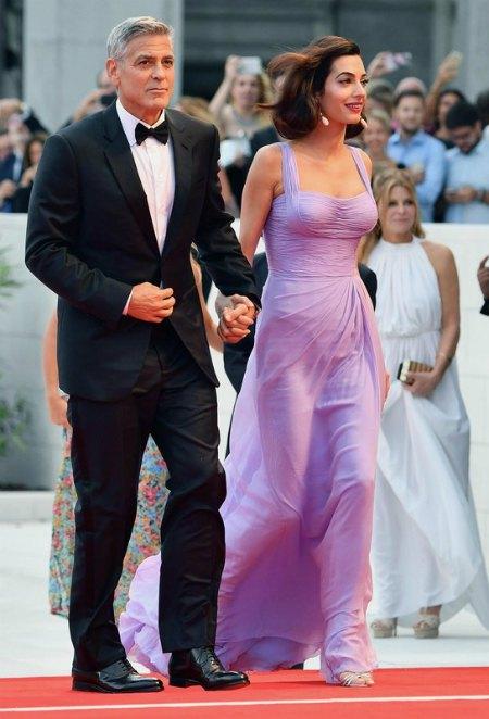 Амаль Клуни родила двойню всего три месяца назад