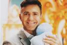 Николай Тищенко крестил сына