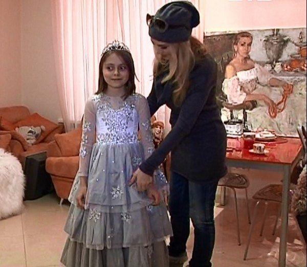 Ольга Сумская с дочкой Аней