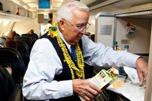 83-летний бортпроводник попадет в Книгу рекордов Гиннесса