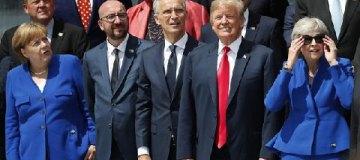 Меркель и Мэй выбрали почти одинаковую одежду на саммит НАТО