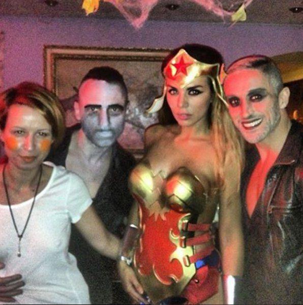 Анна Седокова вспомнила, как любила наряжаться на Хэллоуин раньше