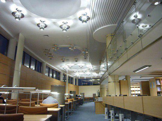 Здесь хранится крупнейшая библиотека печатных изданий страны и третья крупнейшая коллекция книг России за пределами ее территории
